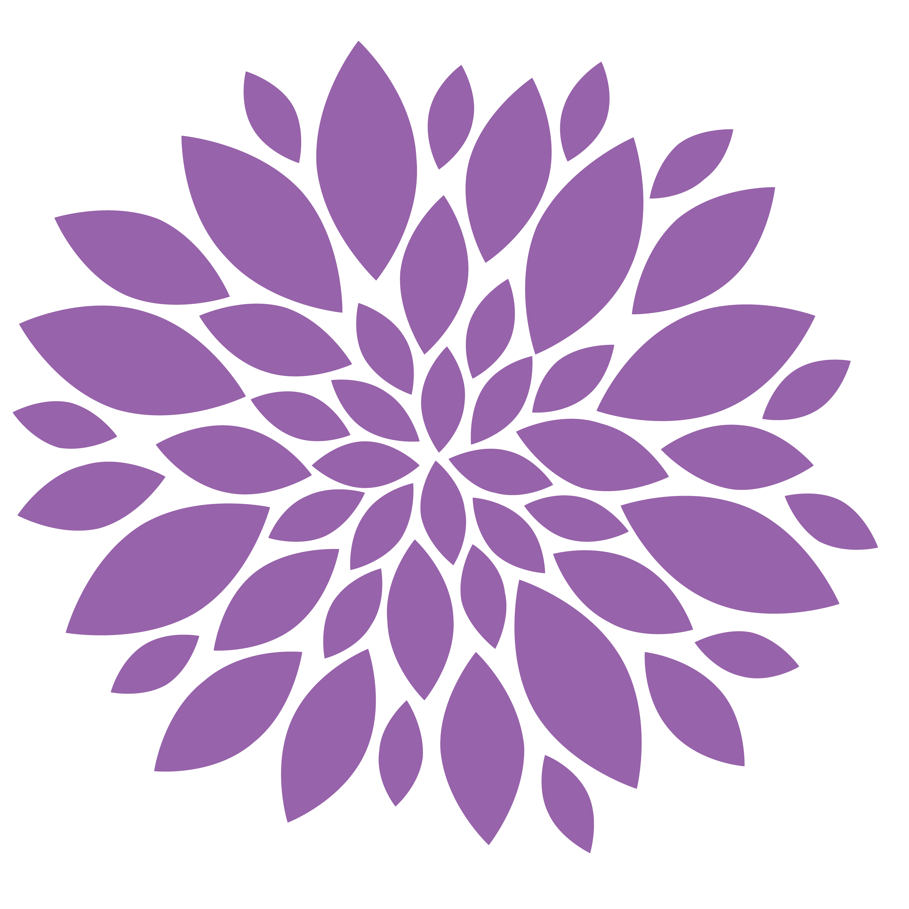 clip free library Transparent Purple Flower PNG