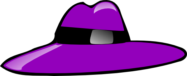 clipart library stock Purple Hat Clip Art at Clker