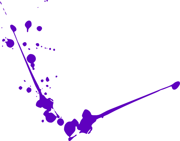 royalty free download Purple Spatter Clip Art at Clker