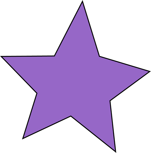 clipart royalty free Purple Stars Clipart