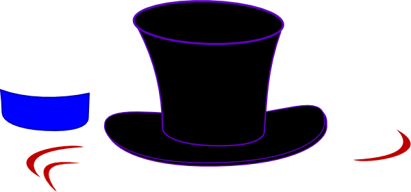 svg library library Black Top Hat Clip Art at Clker