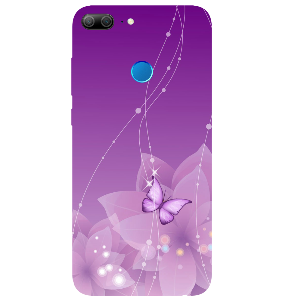 png royalty free stock Purple Butterfly Printed Case Cover For HONOR
