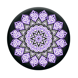 picture royalty free stock Peace Mandala Purple