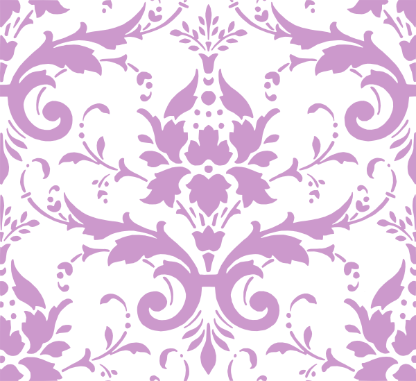 clipart freeuse download Purple Damask Pattern Cc