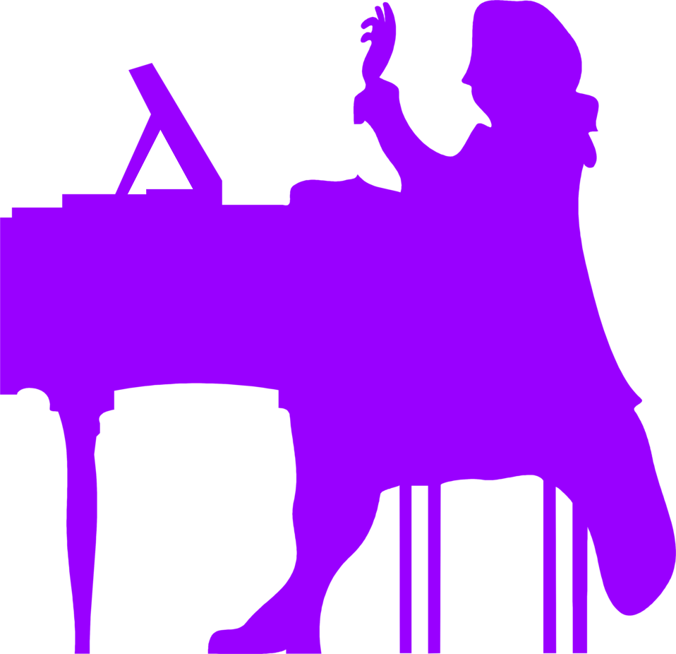 vector free library transparent purple silhouette #117230457