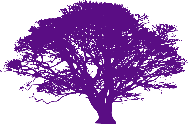 clip art free Purple Tree Clip Art at Clker