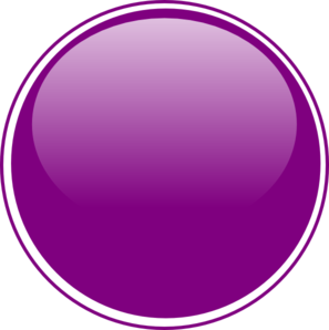 image Purple light button clip. Vector buttons glossy
