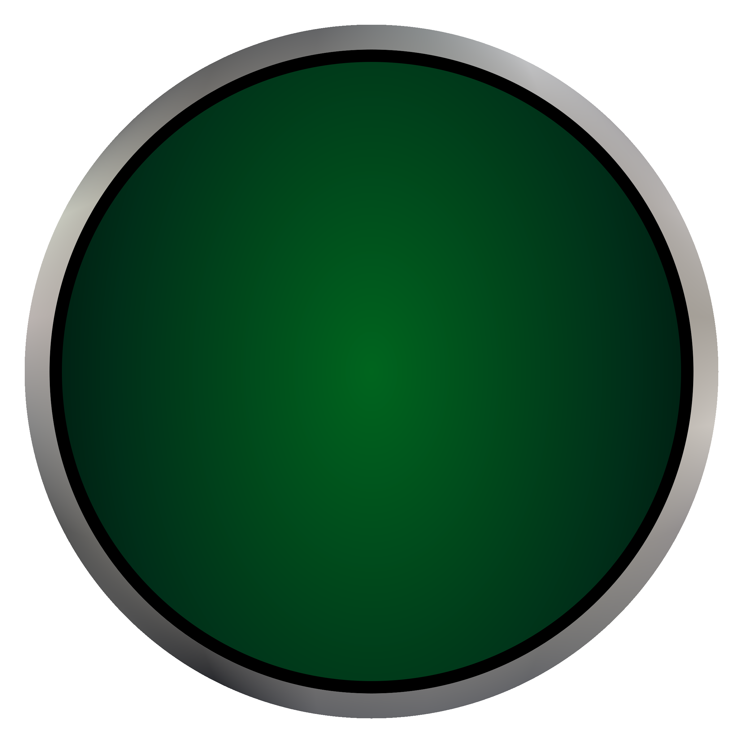 clip freeuse Push button clipart. Industrial green big image.
