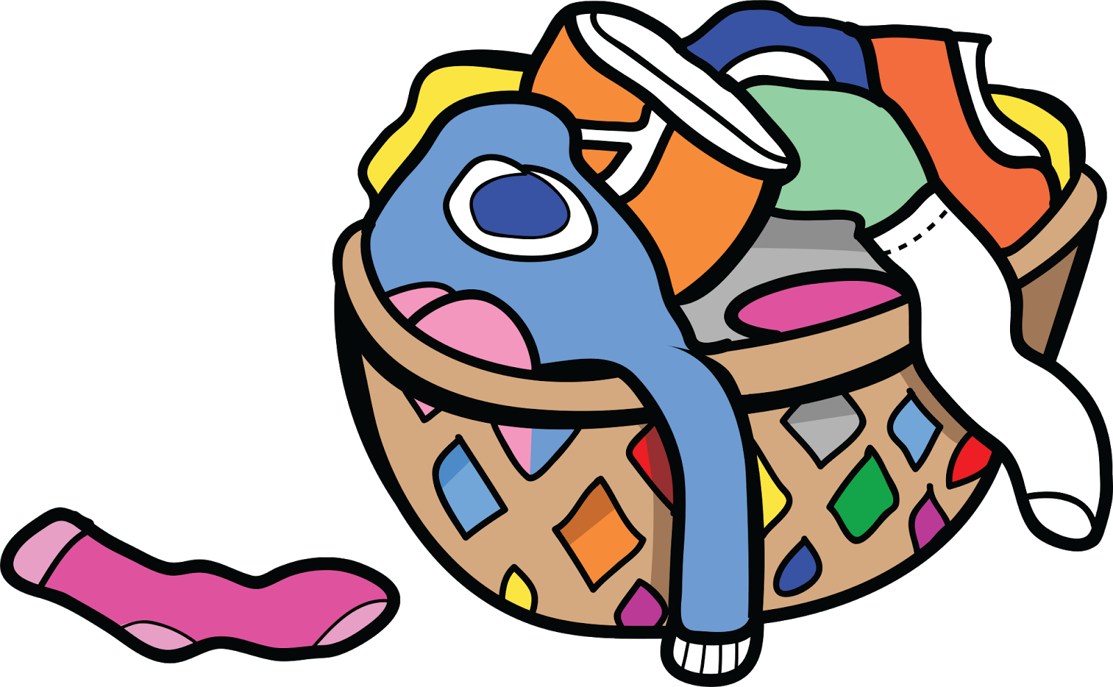 clip art royalty free library Put in hamper clipart. Castles made of sand.