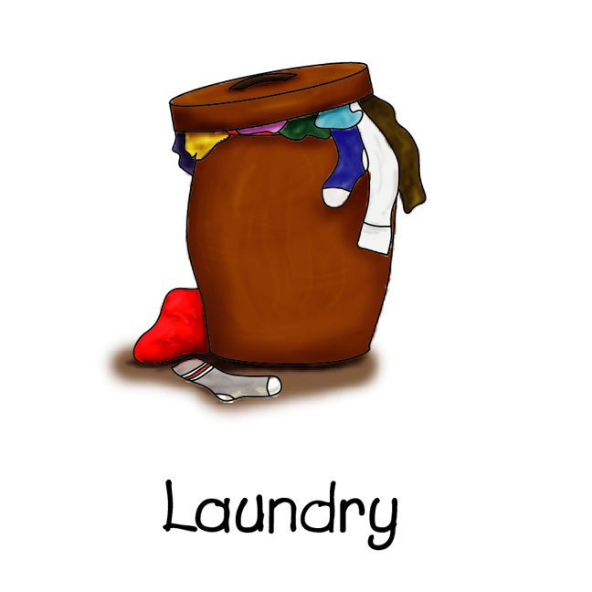 image royalty free download Free clothes cliparts download. Put in hamper clipart.