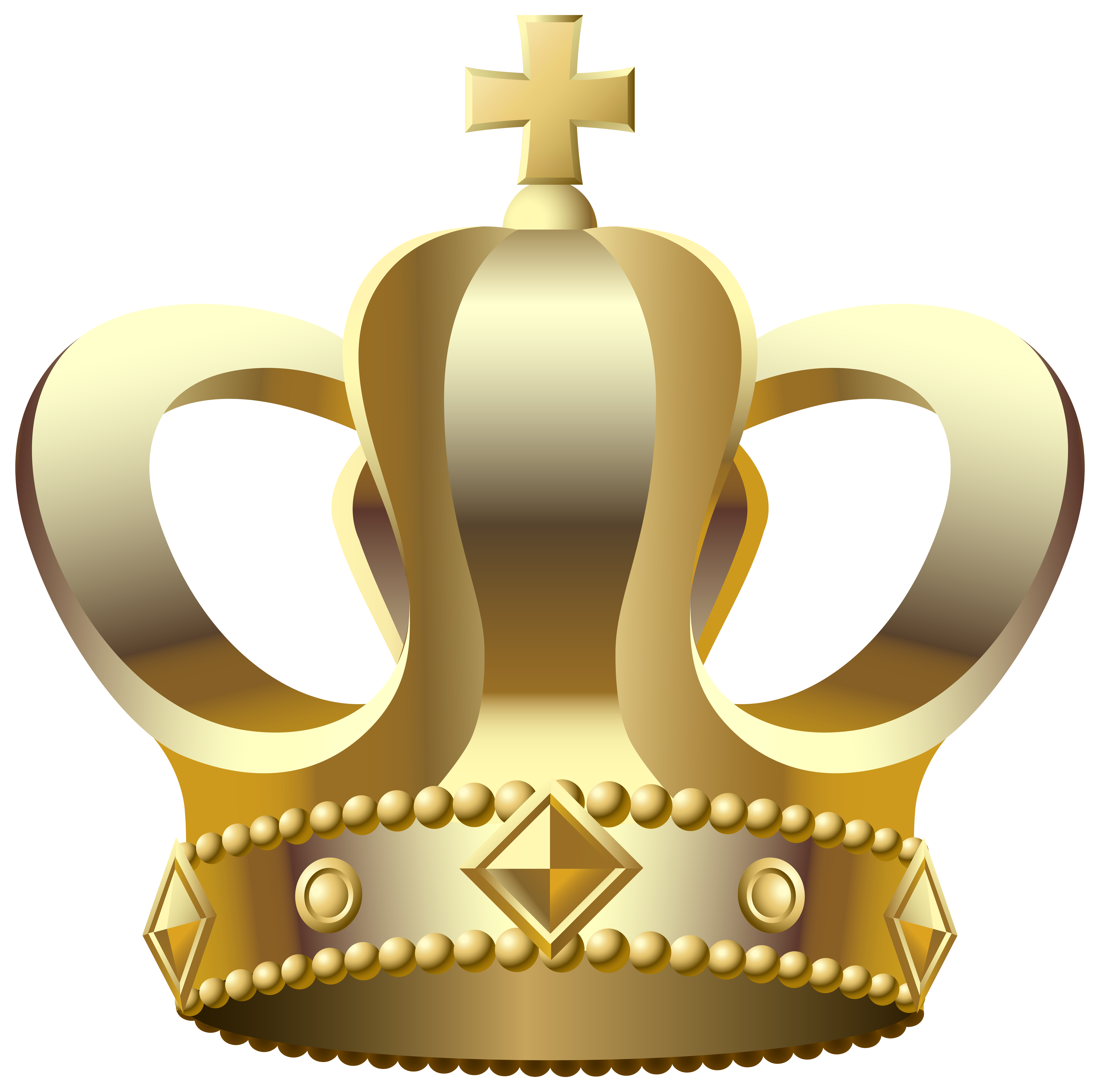 clip art freeuse library Crown transparent png clip. Gold tiara clipart.