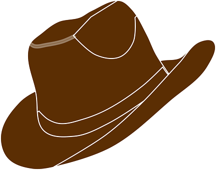 banner stock Cowboy Hat Clipart western wear