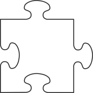banner freeuse White border puzzle piece. Puzzles clipart proportion