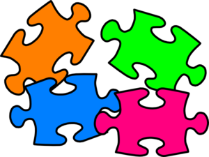 clip library library Puzzled clip art at. Puzzles clipart.