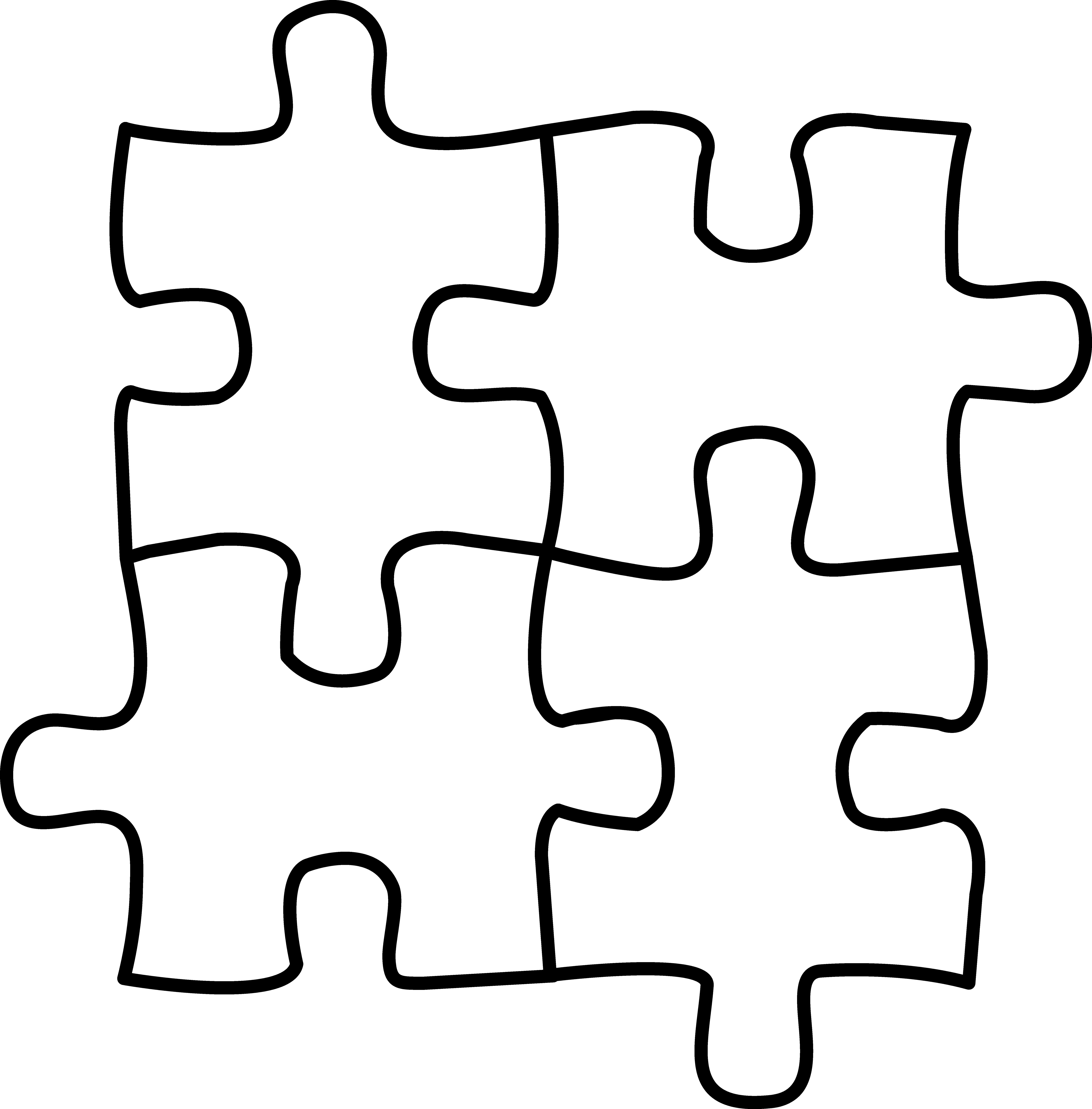 clip art transparent download Puzzle media center pinterest. Puzzles clipart.