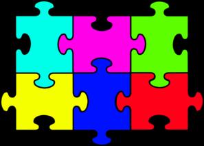 vector download Puzzles clipart. Puzzle complete big clip.