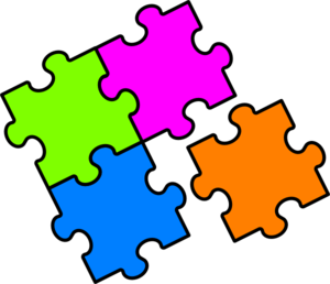 jpg freeuse Puzzle clipart. Clip art at clker.