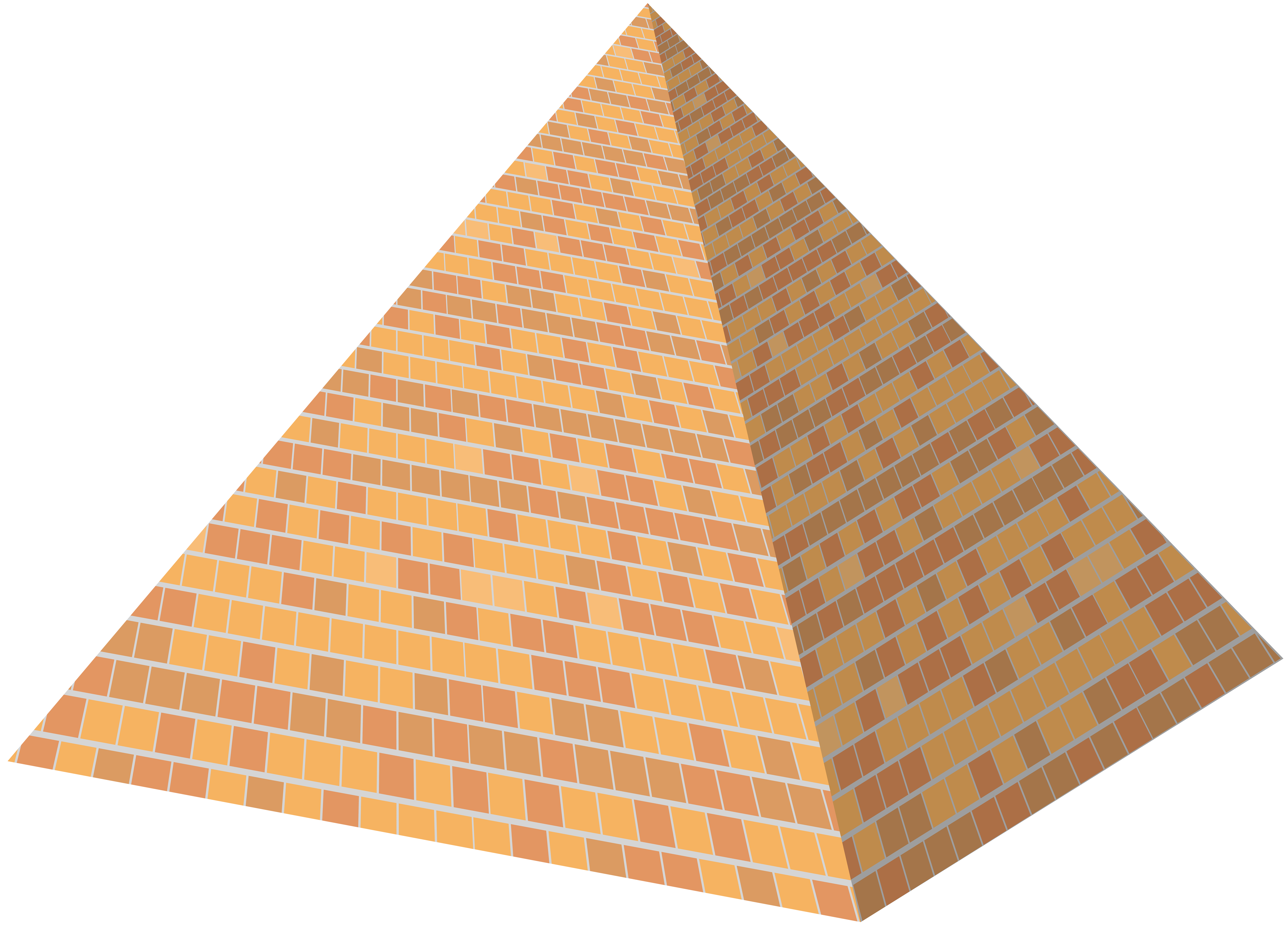 royalty free library Png clip art best. Pyramid clipart.