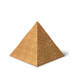 png free library Pyramids clipart transparent. Pyramid icon png image