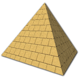 transparent library Free on dumielauxepices net. Pyramid clipart.