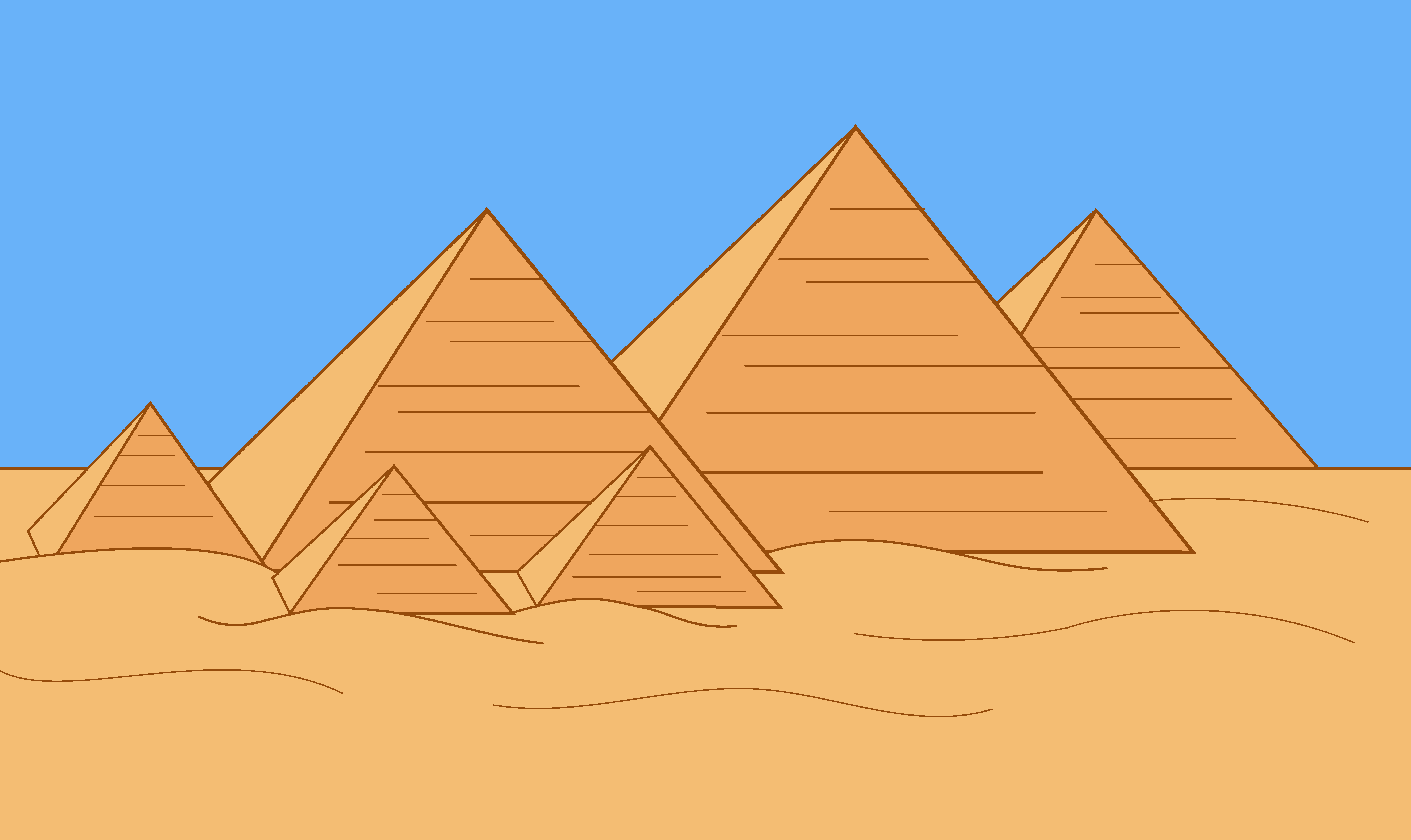 svg freeuse library Pyramids clipart. Free pyramid cliparts download