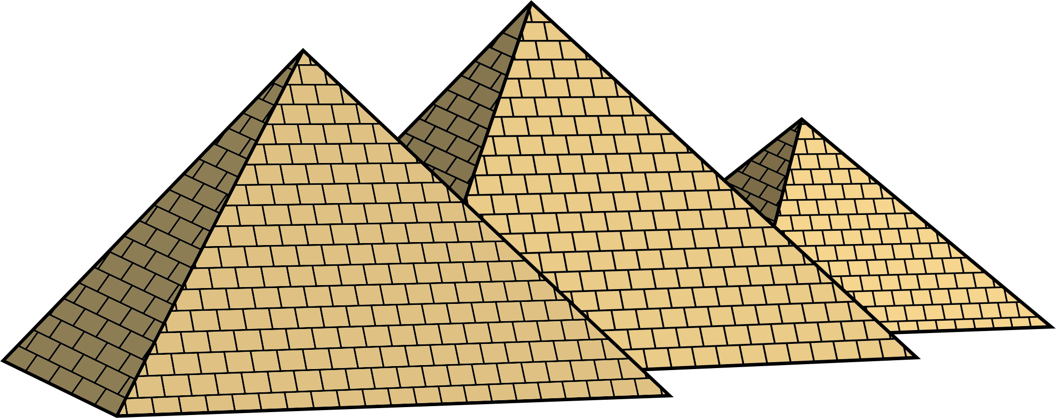 clip royalty free Pyramids clipart. Egyptian big image png