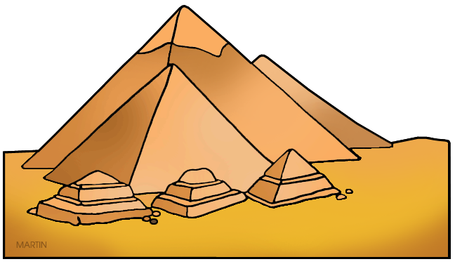jpg black and white stock Ancient egypt clip art. Pyramids clipart history egyptian