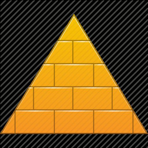royalty free Pyramid Icons