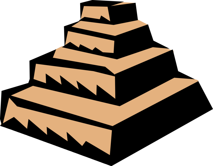 svg freeuse library Step Pyramid