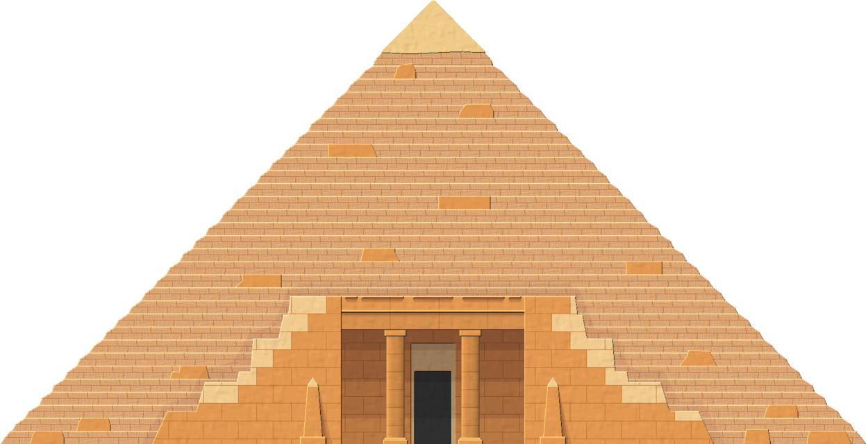 svg transparent stock Structure Clipart egyptian pyramid