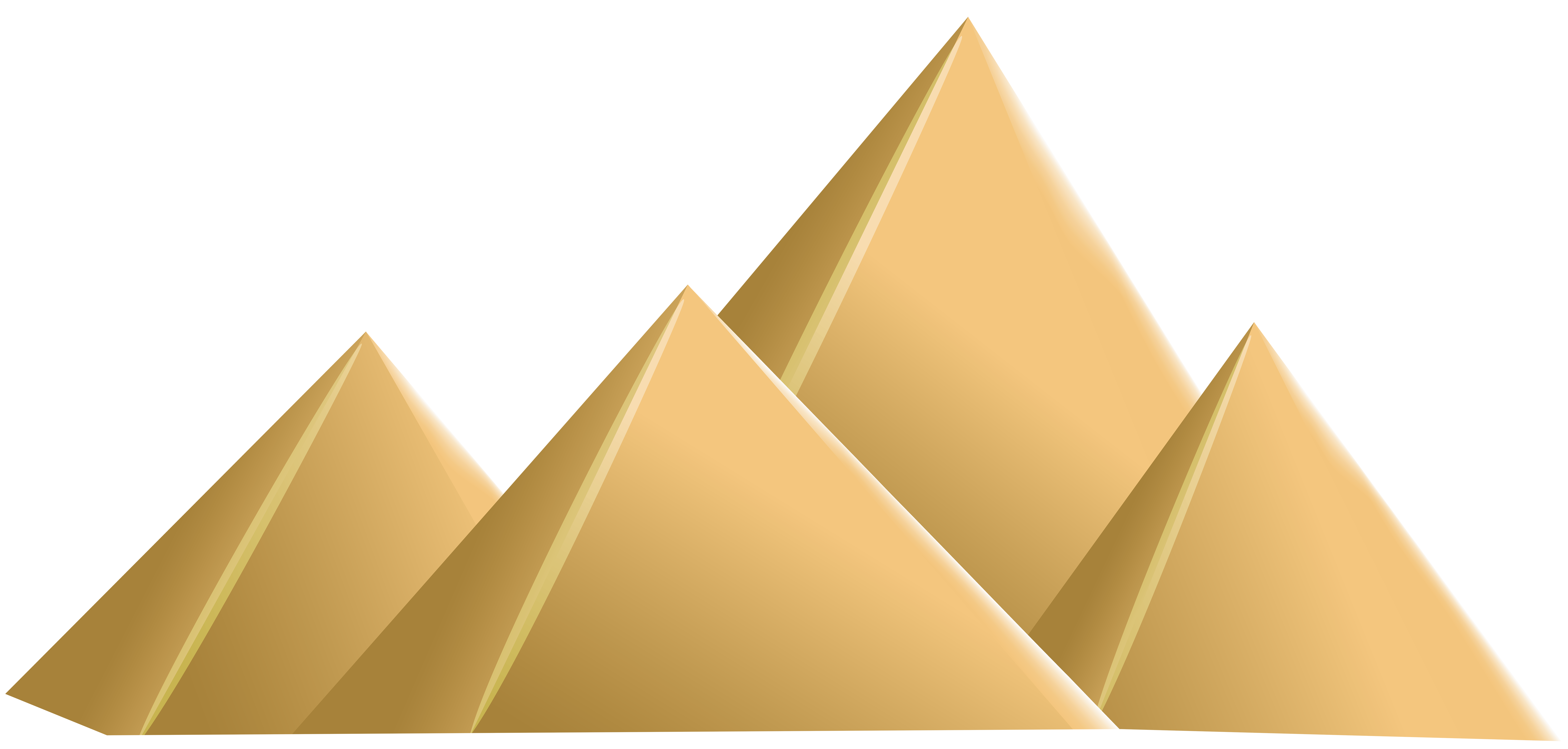 jpg royalty free download Egyptian png clip art. Pyramids clipart