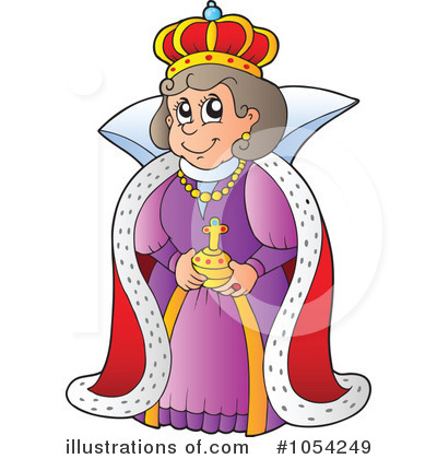 jpg royalty free library Queen clipart. Illustration by visekart .