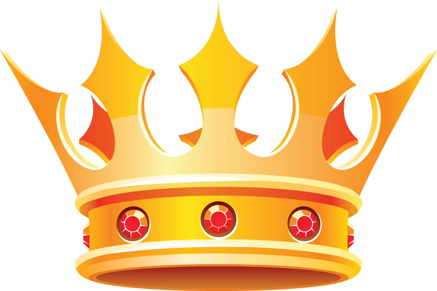 picture freeuse library King Queen Crown Clip Art