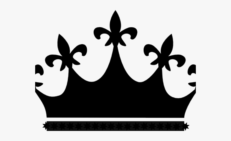 picture transparent Crown black png . King and queen crowns clipart