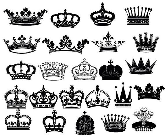 banner freeuse stock Crown clip art royal. King and queen crowns clipart