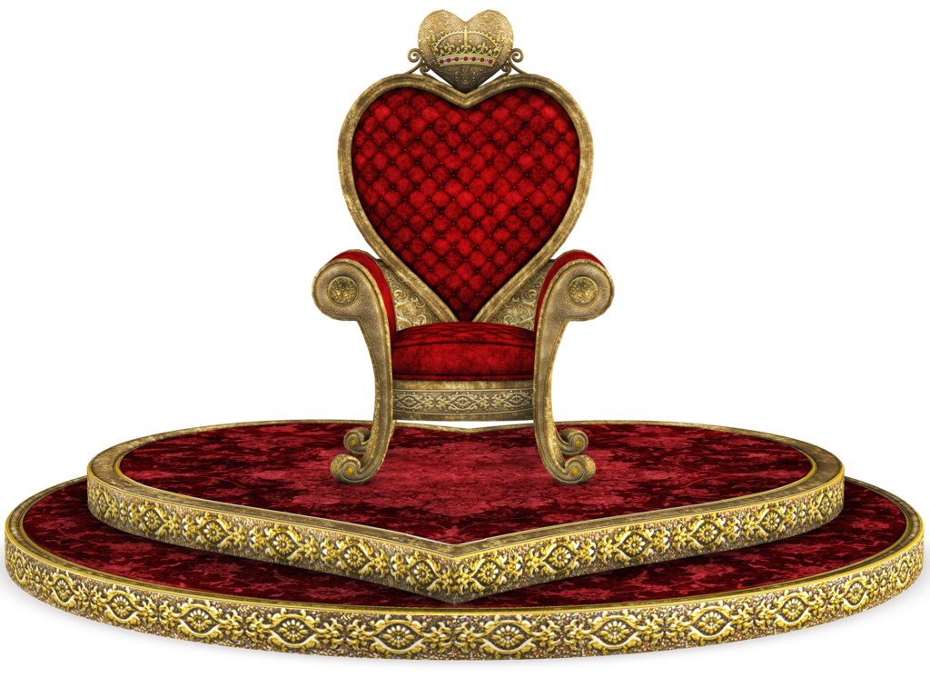 png library stock King throne clipart. Unrestricted queen of hearts