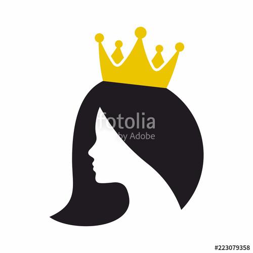 image free download Princess icon stock image. Queen vector.