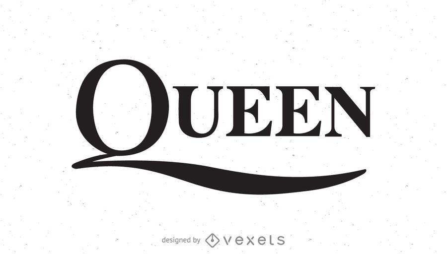 vector transparent stock Queen vector. Band logo download .
