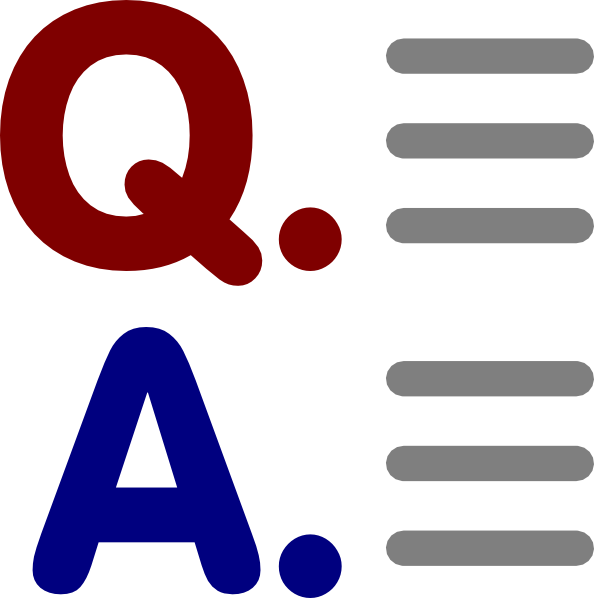 jpg free Question And Answer Clipart