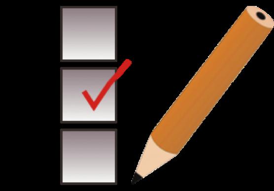 black and white quiz clipart questionnaire #46530957