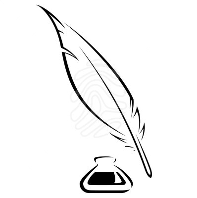 clipart transparent library Writer clipart quill. Free feather cliparts download.