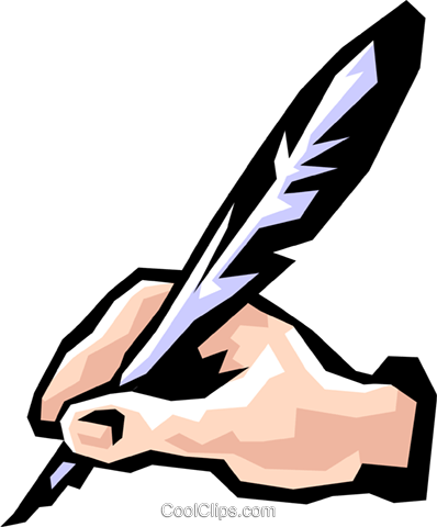 image royalty free download Writing free on dumielauxepices. Quill clipart hand holding.
