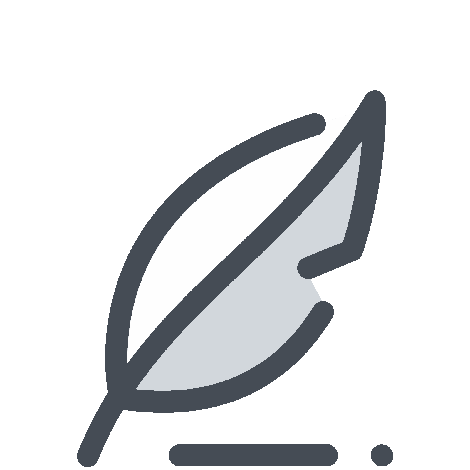 png black and white stock Pen icon free download. Quill vector.