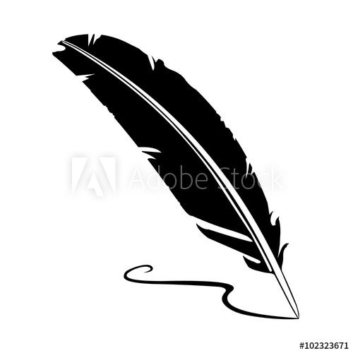 transparent download Quill vector. A illustration of feather.