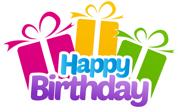 picture free stock With gifts png clip. Happy birthday sister clipart