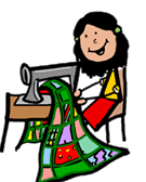 vector library Quilter clipart. We re all about.