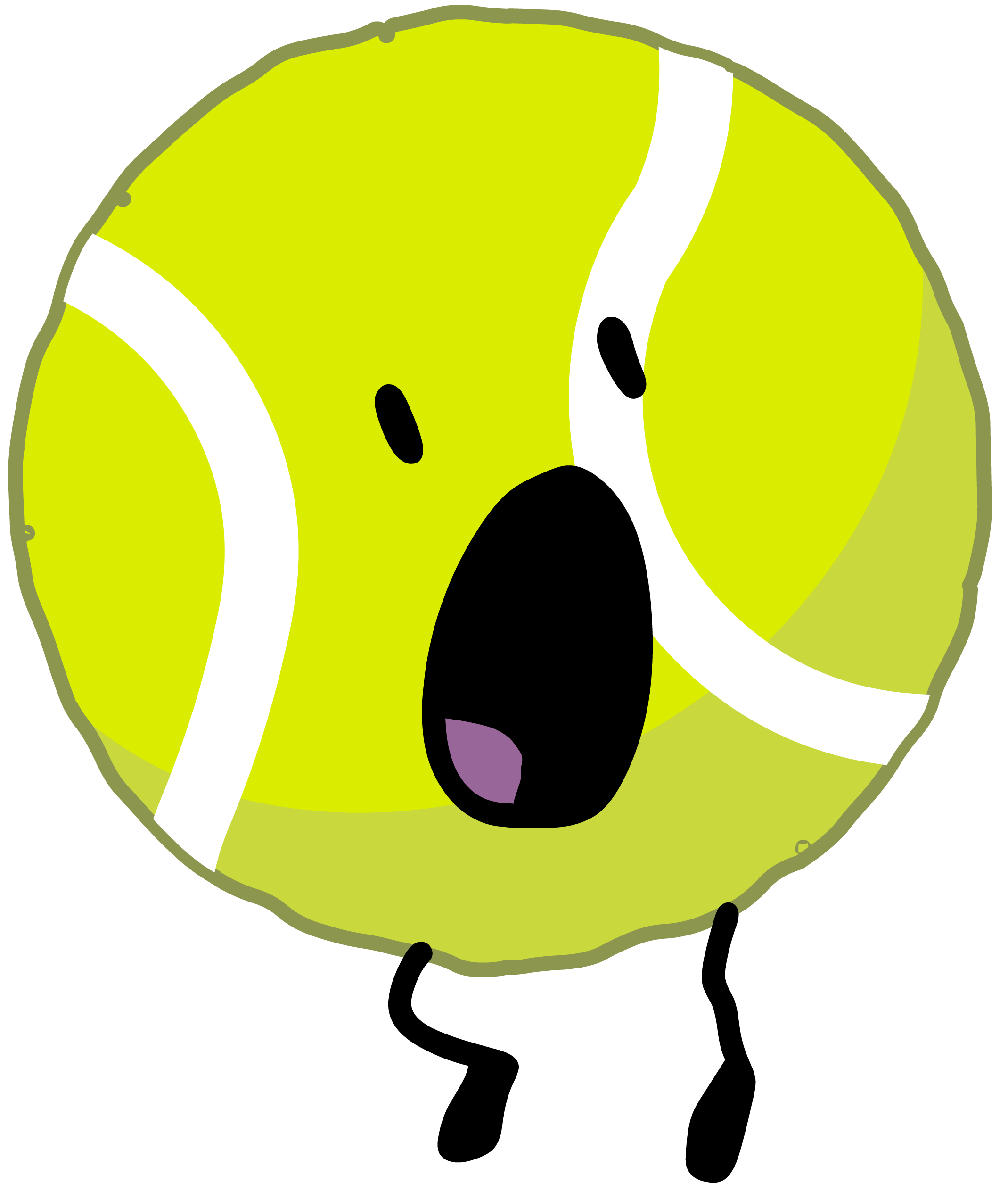 clip free Tennis Ball