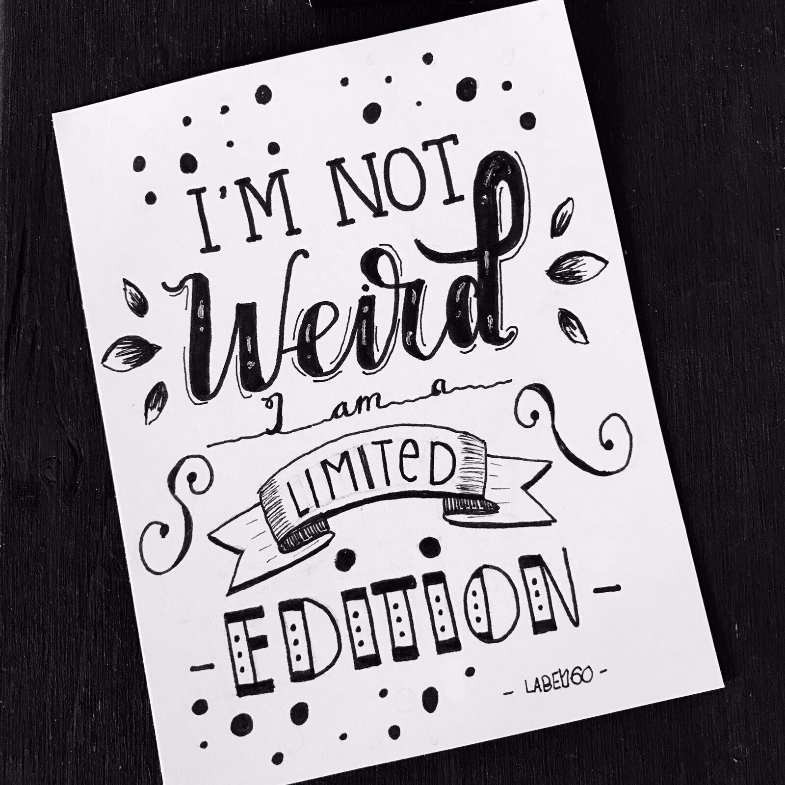 vector free I m not weird. Quotes drawing