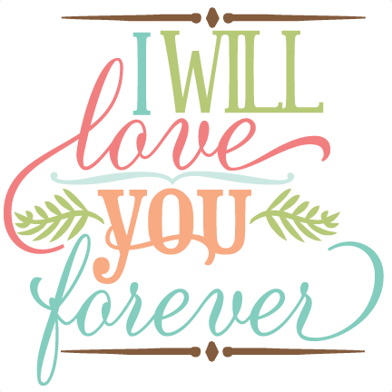 clipart freeuse library I will love you. Svg cuttables quotes