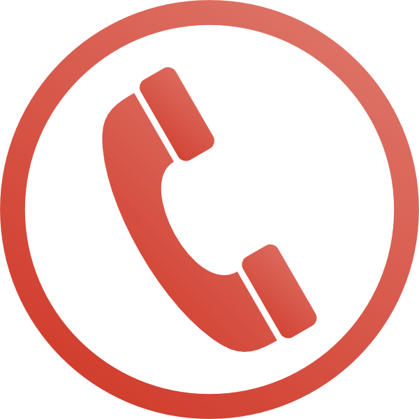 graphic library stock Red Phone Icon Clip Art at Clker